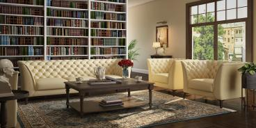Stylish Luxury Sofa Set for living Manufacturers in Ahmednagar