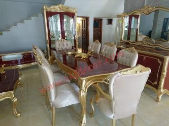 Stylish Modern Dining Table 8 seater Manufacturers in Ambala