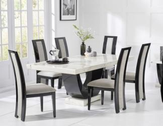 Stylish modern marble dining table Manufacturers in Akola