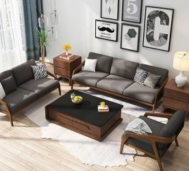 Teak wood luxury 7 seater sofa Set Manufacturers in Ahmednagar