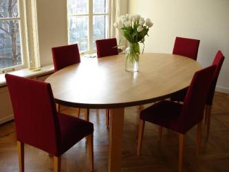 Well Furnished Wooden Dining Table Manufacturers in Jalandhar