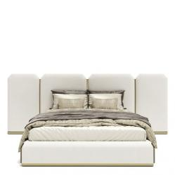 White Leather King Size Bed Manufacturers in Dindigul