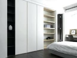 White Sliding Door Wardrobe Manufacturers in Gurgaon
