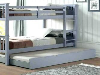 White Wood Trundle Bed Manufacturers in Jaipur