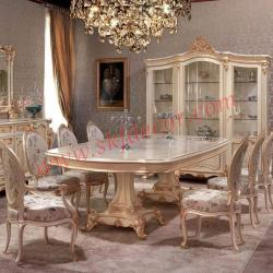 White modern dining table 8 seater Manufacturers in Ambala