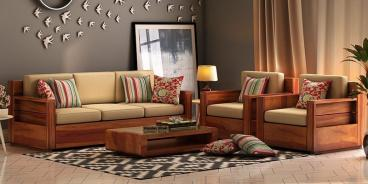 Wooden Heavy Carved Furniture Royal Sofa Set Classic Style Manufacturers in Agra